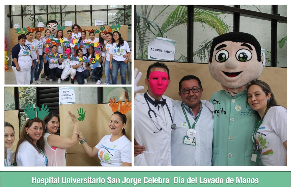 Hospital Universitario San Jorge Celebra Dia del Lavado de Manos 1