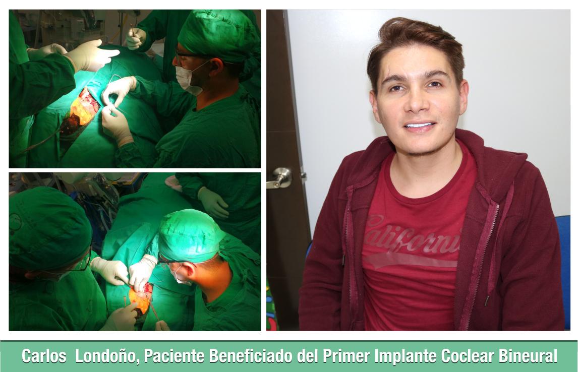 Paciente Beneficiado del Primer Implante Coclear Bineural 2